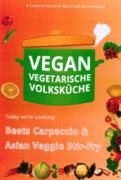 VEGAN VEGETARIAN FOLK'S KITCHEN. Beets Carpaccio & Asian Veggie Stir-Fry in Coconut Milk