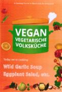 VEGAN VEGETARIAN FOLK'S KITCHEN. Wild Garlic Soup and Frittatas & Eggplant Salad and Party Nibbles