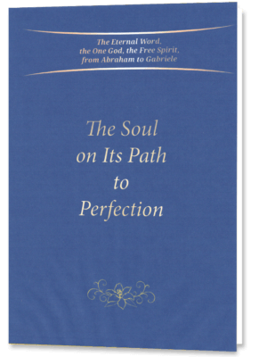 Details on the creation of the eternal Being and of our soul