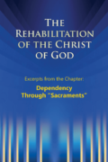 Pdf - The Rehabilitation of the Christ of God - Excerpts - Dependency Through