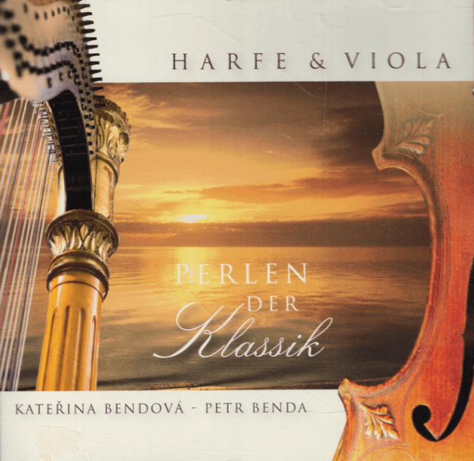 Pearls of Classics with Harp and Viola in Beautiful Harmony